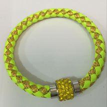 Lime Green Highlights Bracelet ..L@@K.. ≫≫ We Combine Shipping ≪≪ - $3.05
