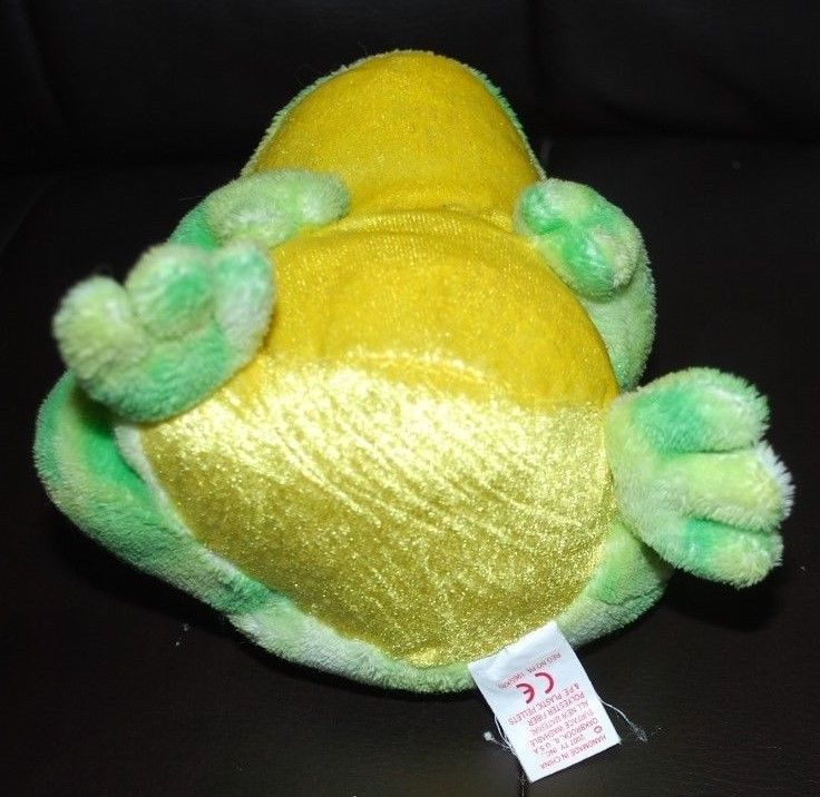 Ty Beanie Baby Jumps Frog 2.0 Collection Plush Stuffed Animal Toy Green HTF