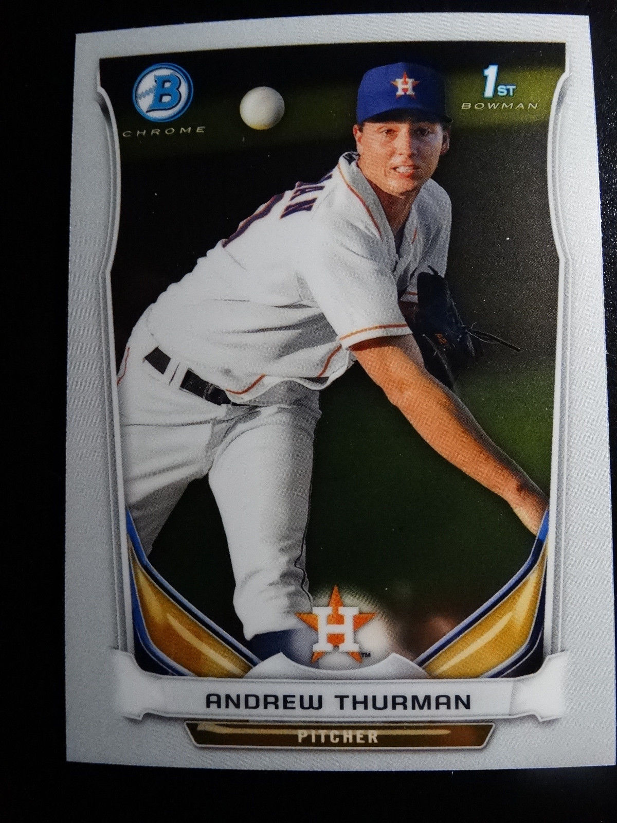 Primary image for 2014 Bowman Chrome #BCP57 Andrew Thurman Houston Astros Baseball Rookie Card