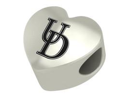 Delaware Blue Hens College Heart Bead Fit Charm Bead Bracelets - $49.00