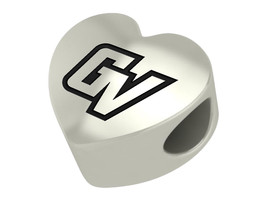 Grand Valley Lakers College Heart Bead Fit Charm Bead Bracelets - $49.00