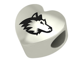 Northern Illinois Huskies College Heart Bead Fit Charm Bead Bracelets - $49.00