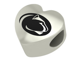 Penn State Nittany Lions Heart Bead Fit Charm B... - $49.00