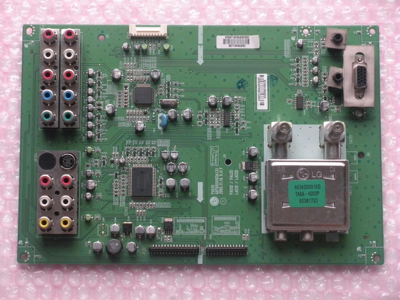 LG 42PC3D-UD INPUT BOARD 68709S0163A(3)