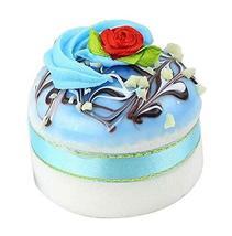 Black Temptation Set of 2 Artificial Cake Lifelike Cake Model Photograph... - $13.46