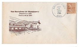 1943 Cachet Cover Second Mesa AZ San Bartolome de Shungopavi Spanish Mis... - $7.99