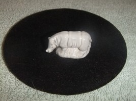 Wade Pottery Whimsies Signed England Gray Rhino... - $7.69