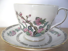 Duchess of England Bone China- Indian Tree Pattern Breakfast Cup and Sau... - $32.38