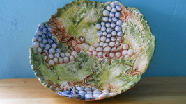 Heavy! Jay Willfred Andrea Bowl by Sadek of Portugal w/ Grapes & SIGNED ... - $32.38