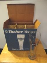 NIB, Set of 6 Germany Tucher Weizen .5 Pilsner ... - $54.82