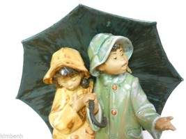 RETIRED! Lladro Under The Rain Spain #2077 Excellent Condition w/Origina... - $209.59