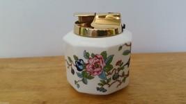 Rare Pembroke Gold Aynsley Bone China England Fancy Cigarette Lighter - $24.90