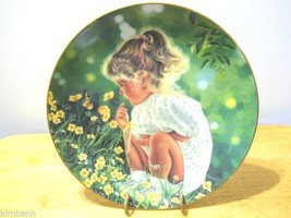 """""""Ashley"""" Treasured Days Plate Collection by Higgins Bond Signed & Numbered  - $32.73"""