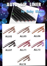 RUBY KISSES AUTO LIP LINER CLASSIC AUTOMATIC LIP PENCIL LINER ALL02 - ALL16 - $0.99