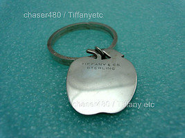 Tiffany & Co. Apple Solid Silver Key Chain Ring - $242.49