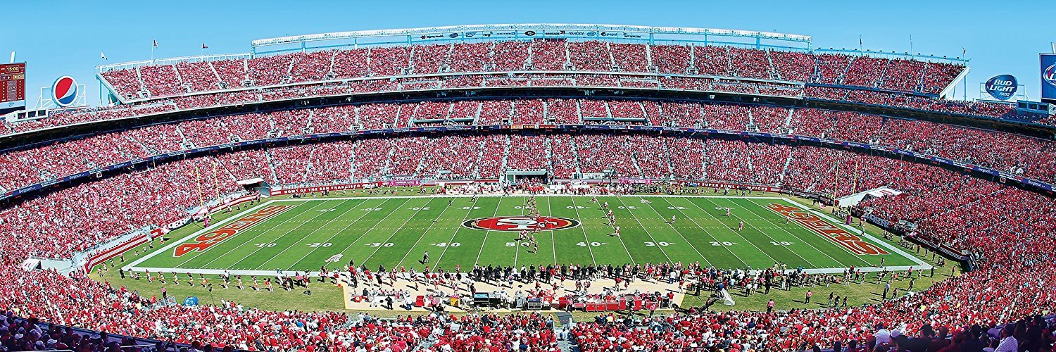 Primary image for San Francisco 49ers 1000 Piece Panoramic Puzzle