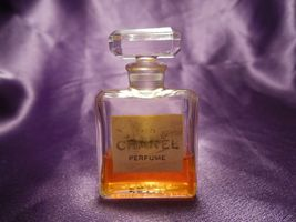 Vintage No. 5 Chanel Perfume 1/4 fl oz Bottle w/ Box Size 9 image 6