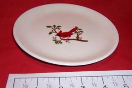 "6 1/4"" Cardinal Decorative Plate - $8.40"