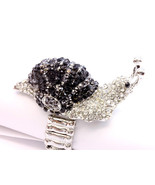 RING / STRETCH / CRYSTAL STONE / SNAIL / 2 INCH... - $15.00