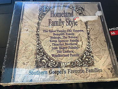 Primary image for Homeland Family Style / Southern Gospel's Favorite Families cd SEALED