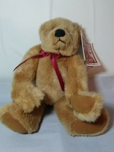 Russ Berrie EUREKA Fully Jointed Bear W/Suede Paws Plush Stuffed Animal ... - $14.92