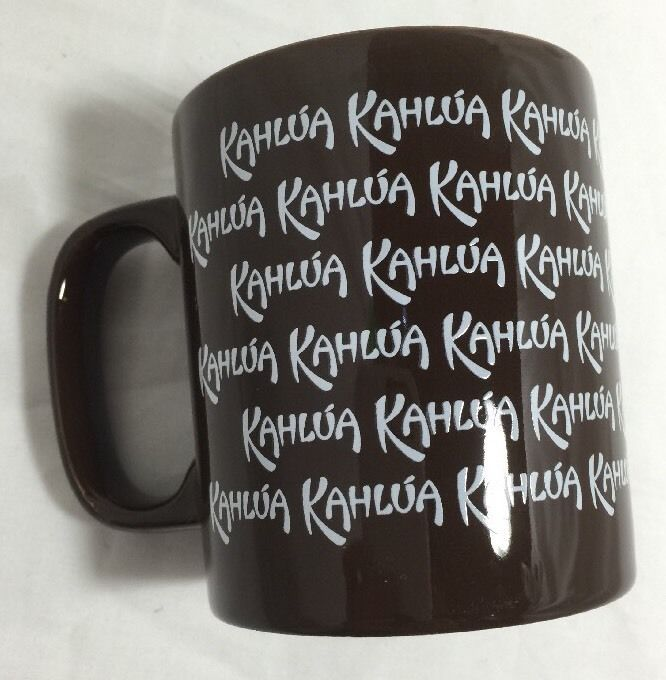 KAHLUA Coffee Cup Mug Brown Kahula Warm Hot Drink Ceramic Kiln Craft England