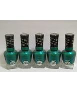 5 Sally Hansen Miracle Gel Nail Polish No Light Needed 'Style-Maker',Green - $19.95