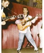 Elvis Presley -  Elvis on stage in the 1950's # 6 - $7.18