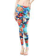 APPAREL / LEGGINGS / CLASSICAL FLOWER / STRETCH... - $19.99