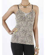 APPAREL / TANK TOP / ANIMAL PRINT / LEOPARD / 2... - $19.99