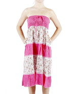 APPAREL / DRESS / SHORT / FLOWER / PRINT / TUBE... - $19.99