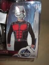MARVEL COMICS ANT MAN costume JUMPSUIT and MASK BOYS MEDIUM size 8-10 - $42.03
