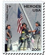 2002 34c Semi Postal, Heroes of 2001 Scott B2 Mint F/VF NH - ₨94.61 INR