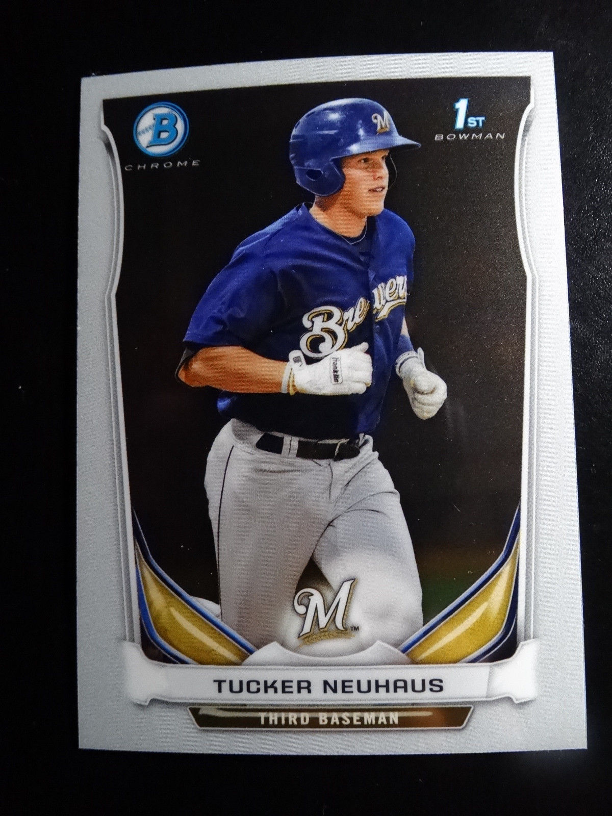 Primary image for 2014 Bowman Chrome #BCP59 Tucker Neuhaus Milwaukee Brewers Baseball Rookie Card