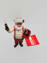 """Coca-Cola Kurt Adler 2012 Fabriche Santa Ornament """"Santa Holding 6-Bottl... - $18.32"""