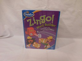 Think Fun Zingo Word Builder Board Game Fun Learning game New Sealed - $20.82