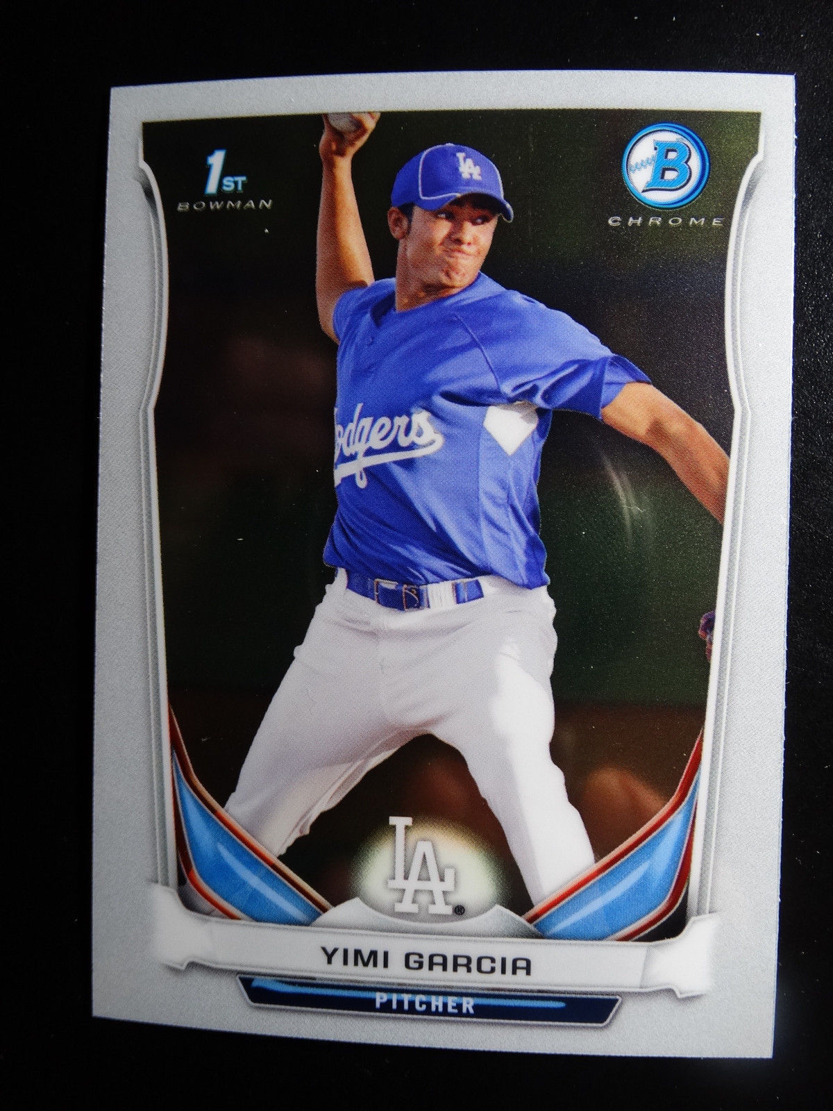Primary image for 2014 Bowman Chrome #BCP70 Yimi Garcia Los Angeles Dodgers Baseball Rookie Card