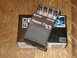 Boss / Roland ML-2 Metal Core Distortion Guitar Effect Pedal, Complete O... - $73.87
