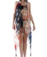 SCARF / DISTRESSED PRINT / AMERICAN FLAG VEST /... - $25.00