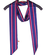 SCARF / RED WHITE AND BLUE / 3-IN-1 SILKY SKINN... - $25.00