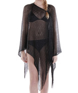 SCARF / WOVEN / SHEER COVERUP PONCHO / 32 INCH ... - $25.00