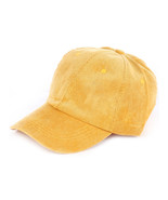 HAT AND CAP / CORDUROY / BASEBALL / BUCKLE BACK... - $15.00