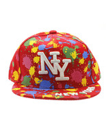 HAT AND CAP / NEW YORK / SNAPBACK / COLOR SPLAS... - $15.00