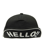 HAT AND CAP / SNAPBACK / MESSAGE / HELLO !! / F... - $15.00