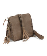 BAG ACCESSORY / FAUX LEATHER / HANDBAG / TASSEL... - $31.00