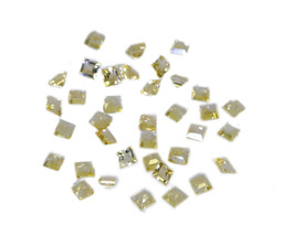 lovesome Citrine Faceted Square 4x4 mm Loose Gemstones - $1.93