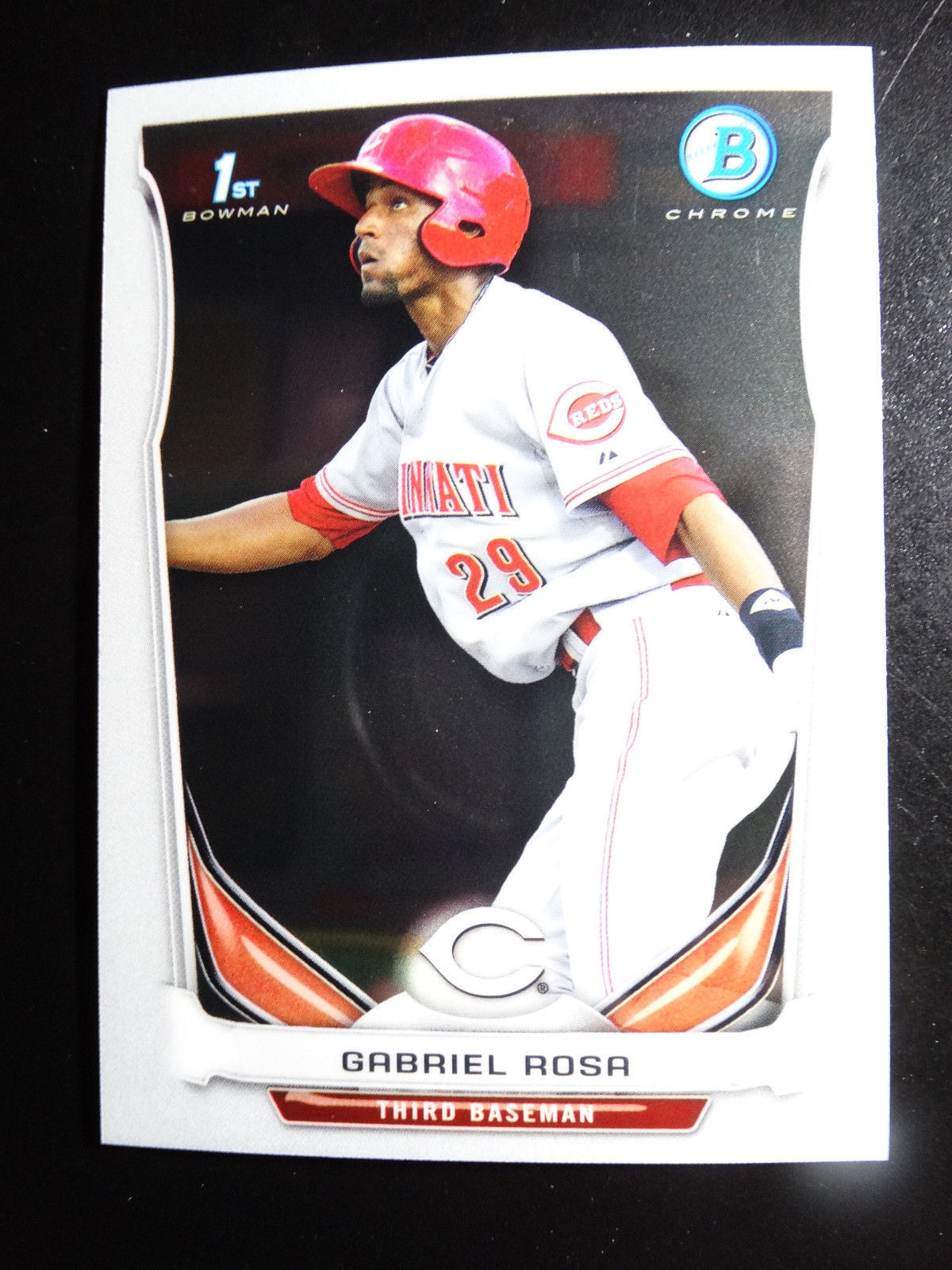 Primary image for 2014 Bowman Chrome #BCP91 Gabriel Rosa Cincinnati Reds Baseball Rookie Card