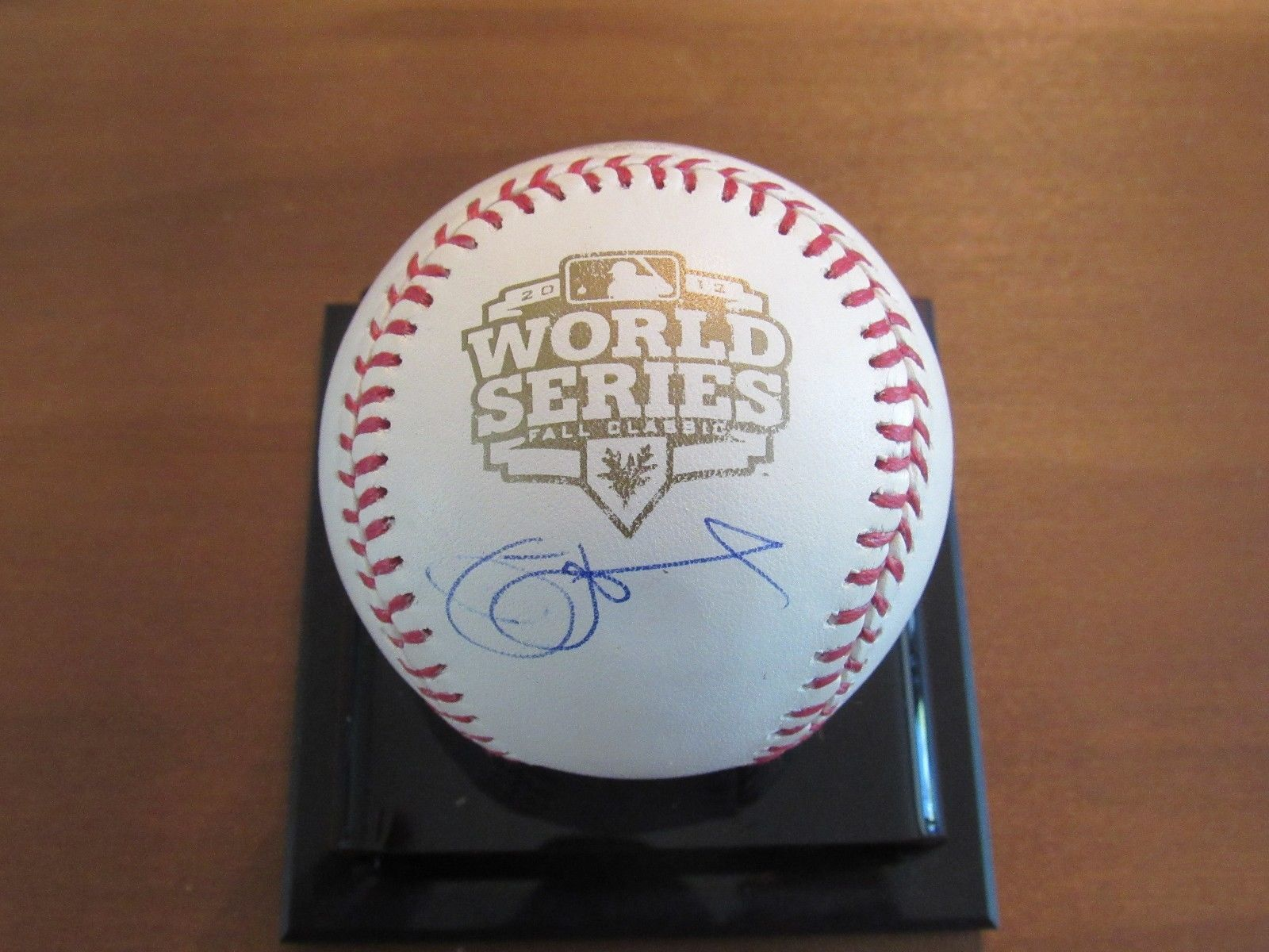 Primary image for JIM LEYLAND WSC MARLINS TIGERS PIRATES SIGNED AUTO 2012 WS GAME BASEBALL JSA