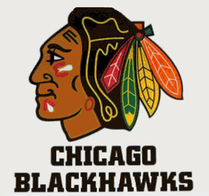 Chicago blackhawks logo cross stitch pattern