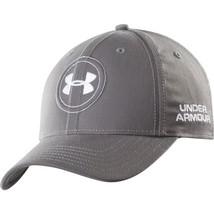 NEW! Silver M/L Under Armour Men's Jordan Spieth Official Tour Golf Hat - $44.43